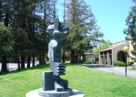 De Anza Sculpture